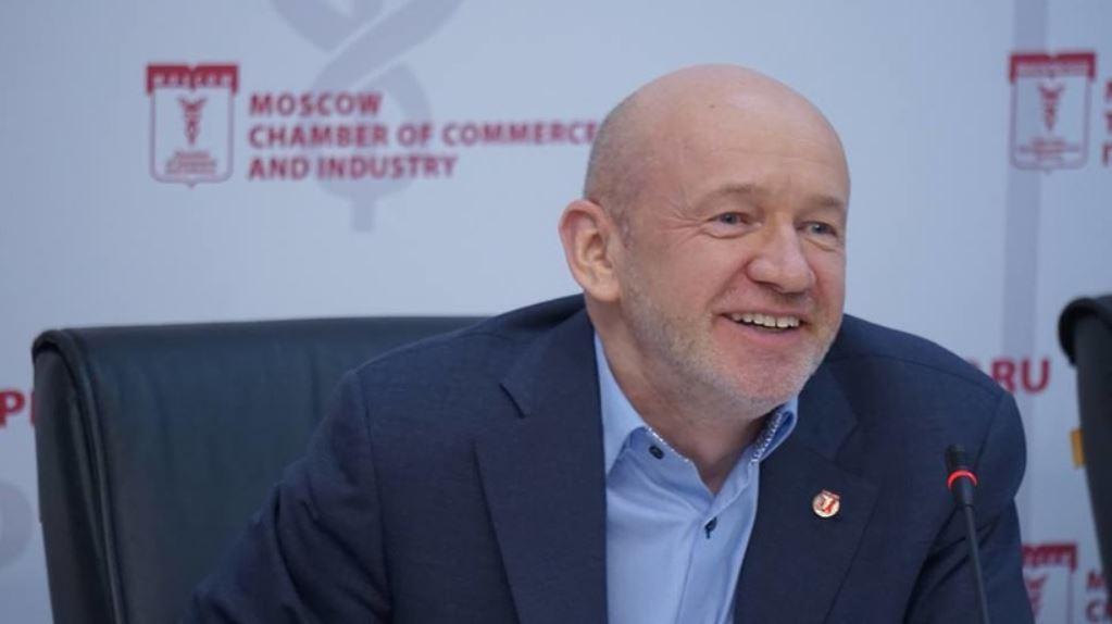Президент Московской торгово-промышленной палаты Владимир Платонов
